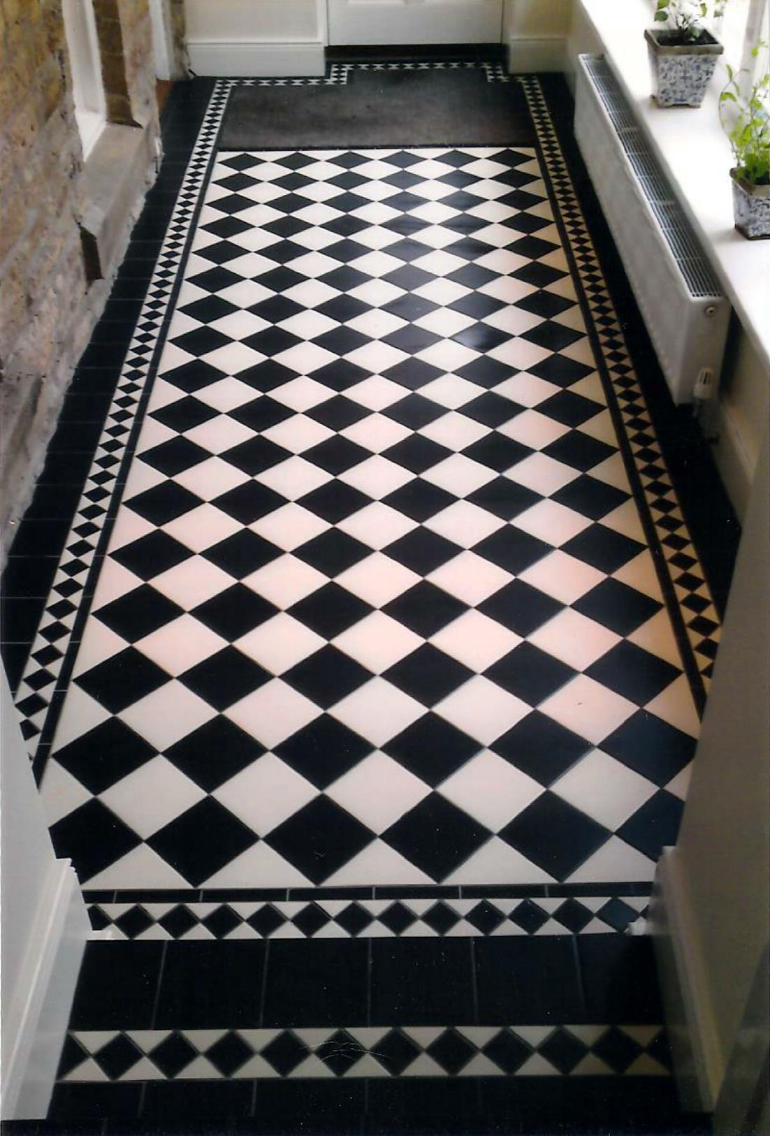 Black And White Floor Tile Part - 23: The Stone Tile Emporium