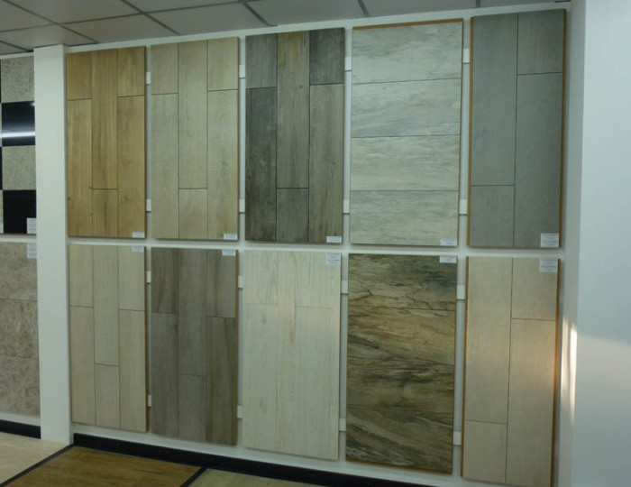 faux wood effect tile image