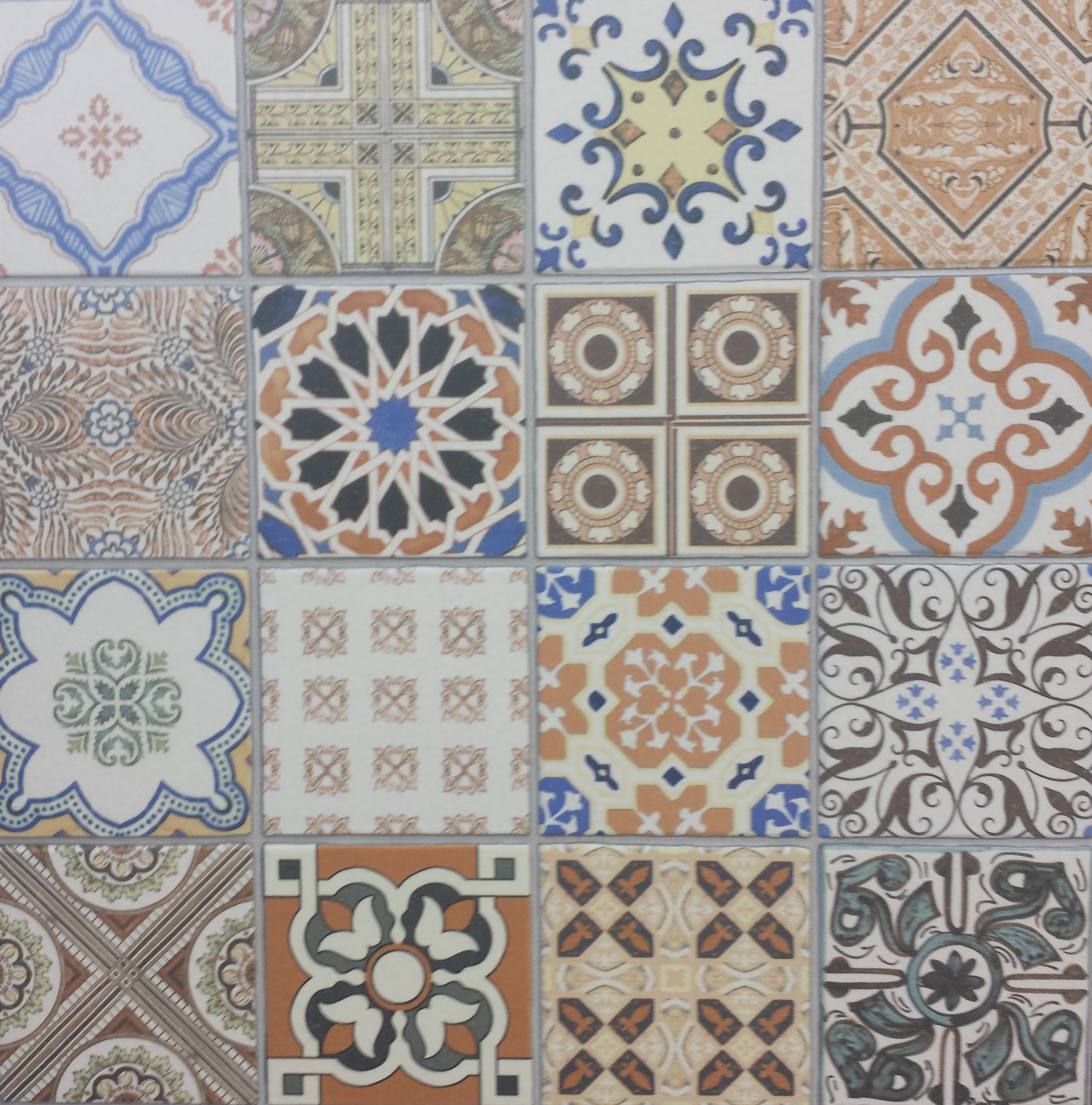 Moroccan floor tile Moroccan ceramic floor tile