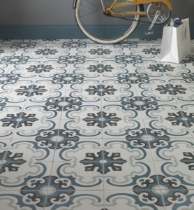 Encaustic tiles from the Stone Tile Emporium