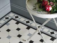 Victorian Floor Tiles in Kitchen