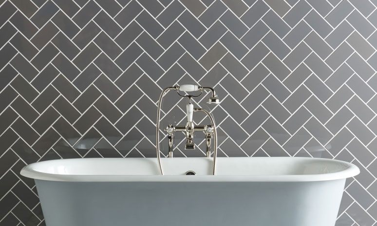 Original Style Artworks London Stone Wall Tiles In Bathroom