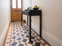 Victorian Floor Tiles In Hallway