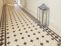Victorian style hall tiles