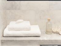 Long Island Marble Rectangular Wall Tiles In Bathroom