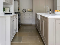 Shepton English Limestone Tiles In Kitchen