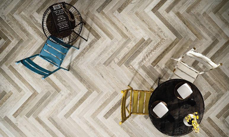 Wood Effect Porcelain Tiling Gallery Image 1 - Lexton Blanco wood porcelain