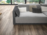 Brown Manhattan Wood effect porcelain floor tiling