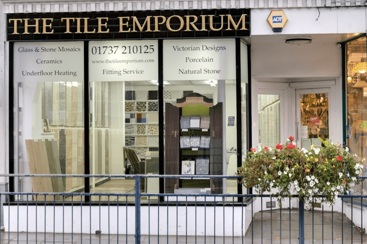 The Stone Tile Emporium Shop Front