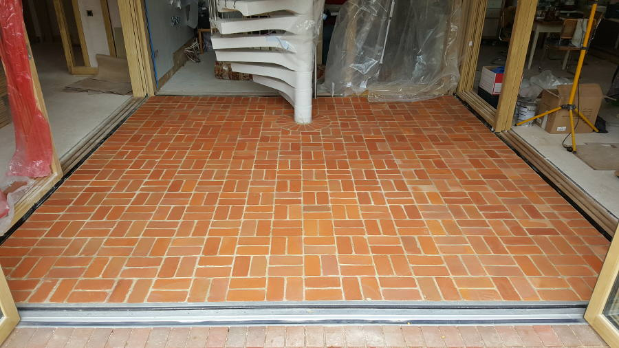 Brick Effect Porcelain Floor Tiles