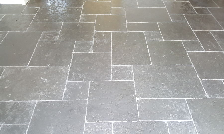 Large Slab Grey Stone Floor Tiles