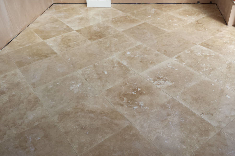 Square Stone Floor Tiles In Natural Colour